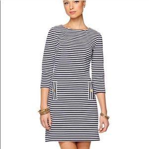 Lily Pulitzer nautical striped knit Charlene dress
